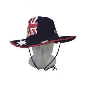 Australian Flag Slouch Hat