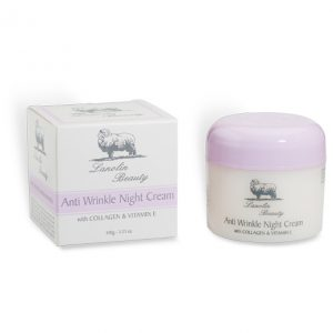 Anti Wrinkle Night Cream - Lanolin Beauty