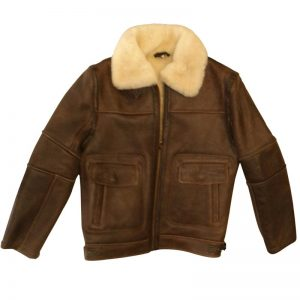 Sheepskin Nappa Bomber Jacket
