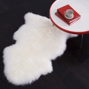 Single Sheepskin Long Wool Rug (Various Sizes)