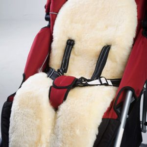Lambskin Liner for Baby Strollers, Prams and Car Seats