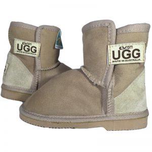 Kids' Mini Vecro Strap Ugg - Euram Ugg